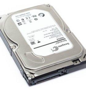Жесткий диск HDD Seagate 1TB б/у SATA