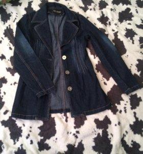 Джинсовка джинсовый пиджак