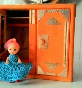 Шкаф для кукол ручной работы
