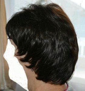 Парик из натуральных волос новый