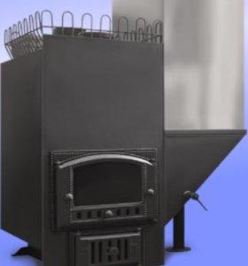 Печь для бани Премиум 500С со стеклом