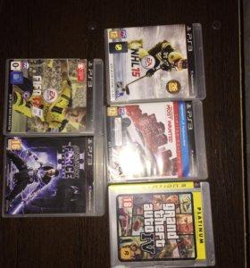 PS3+ 5 дисков