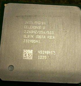 Процессор интел 2.26GHZ