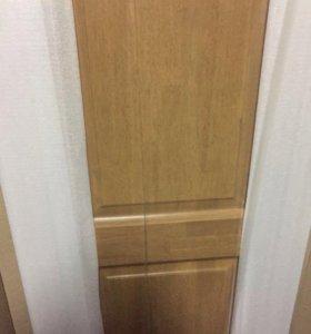 Двери межкомнатные новые массив Гевея с коробкой