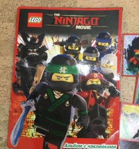 Наклейки Лего ниндзяго Movie