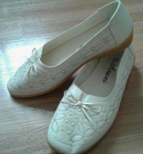 НОВЫЕ Туфли -балетки