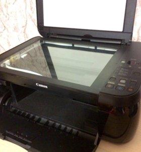 Компактный фото принтер, сканер Canon