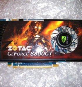 Видеокарта ZOTAC GeForce® 8800 GT 512 Мб GDDR3