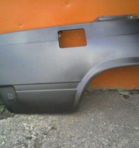 Заднее правое крыло на ВАЗ 2107 (новое)