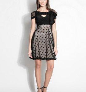 "Черное платье в стиле ""baby doll"" бренд XENIA"