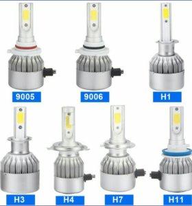 Светодиодные лампочки IED Н1,Н2,Н3,Н7,Н11