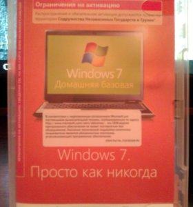 Windows 7 лицензия  ТОРГ домашняя базовая 32x