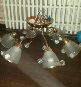 Люстра 6 ламп
