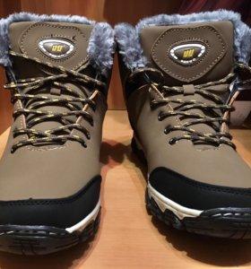 Кроссовки-ботинки Зимние на меху