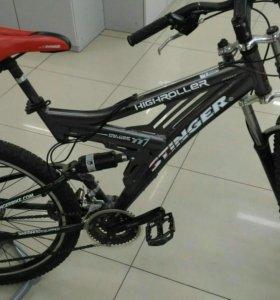 Велосипед, двухподвес