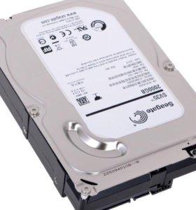 Жёсткий диск Seagate на 2Тб новый
