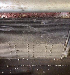Радиатор кондиционера Шкода октавия а5 рестайл