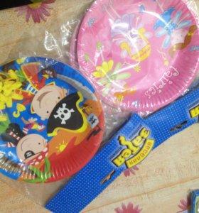 Тарелки для дня рождения