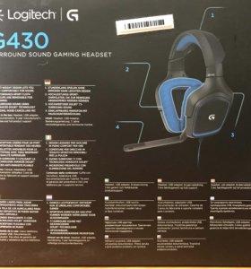 Игровая гарнитура Logitech G430