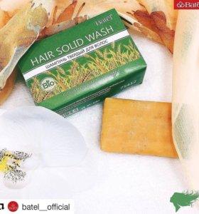 Шампунь твердый для волос с пшеничными отрубями