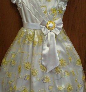 Платье на девочку 6-8