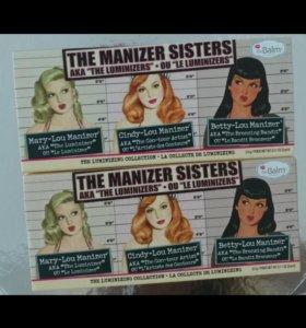 The balm Manizer sisters хайлайтер румяна 3 в 1