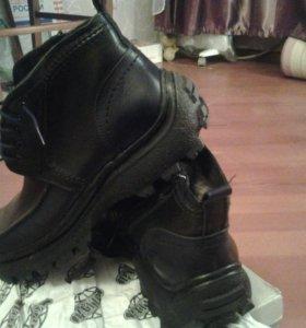 Новые мужские зимние ботинки р.41