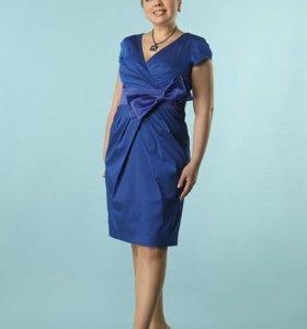 платье васельковое