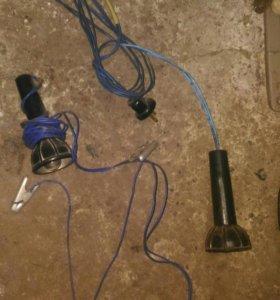 Светильник 12 вольтовый для автомобиля для ремонта