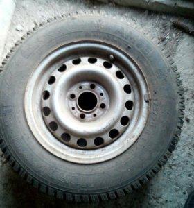 Зимние колёса (жигули)