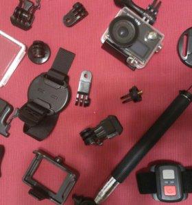 Action-камера + Кейс с креплениями