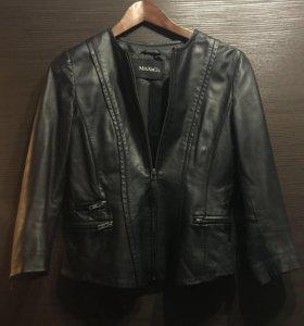 Кожаная куртка пиджак Max&Co оригинал