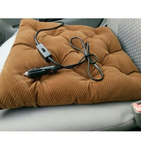 Подушка с обогреватель под прикуриватель