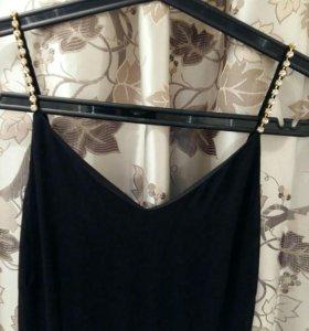 Черное платье макси Lamania новое, S