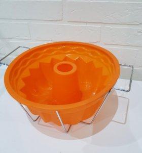 Новая форма для кекса в подставке