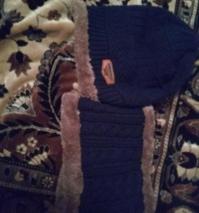 Шапка зимняя с балаклавой