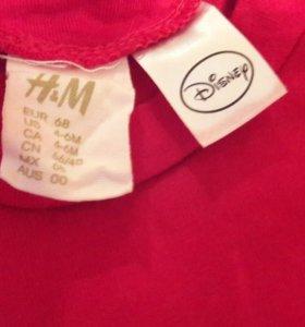 Платье детское H&M 4-6 МЕС