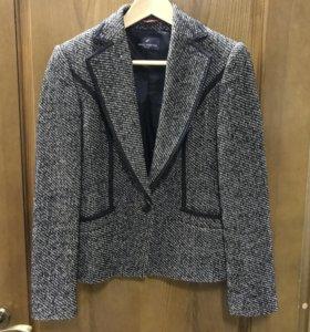 Пиджак шерстяной Daniel Hechter модный стильный