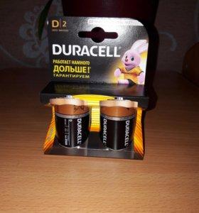 Батарейки DURACELL D|2