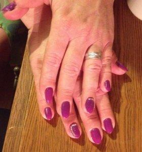 Наращивание и запечатывание ногте не дорого