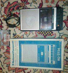 Магнитофон кассетный панасоник