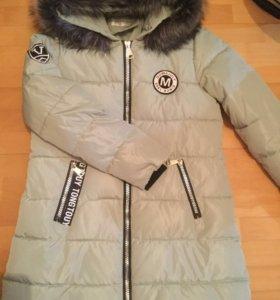 Новая зимняя куртка/ пальто M