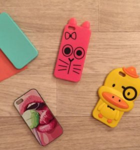 Чехлы на 5 5s айфоны