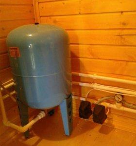 Отопление, водоснабжение, теплый пол, сантехника.