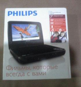 Filips портативный DVD проигрыватель