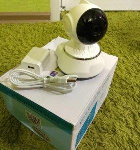 Беспроводна ip поворотная камера, видеоняня