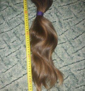 Срез натуральных волос 45 см; 170 гр.