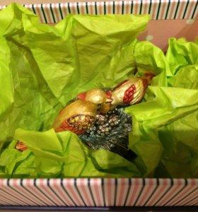 Шкатулка в подарочной коробке