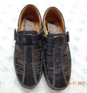 Летние туфли для мальчика стелька 19 см