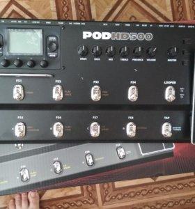 Line 6 POD HD 500 гитарный процессор